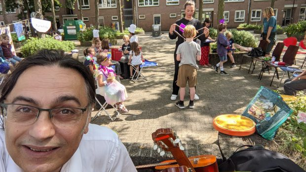 MK24 begint met muzikale activiteiten voor kinderen